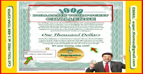 Challenge Certificate Post Size - EMAIL esper.thomas at gmail.com - Call 1-888 TOM-ESPER - 10.17b